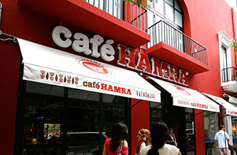 Café Hamra extension -Hamra